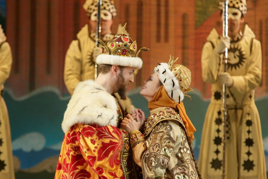 музыкальная сказка о царе салтане скачать