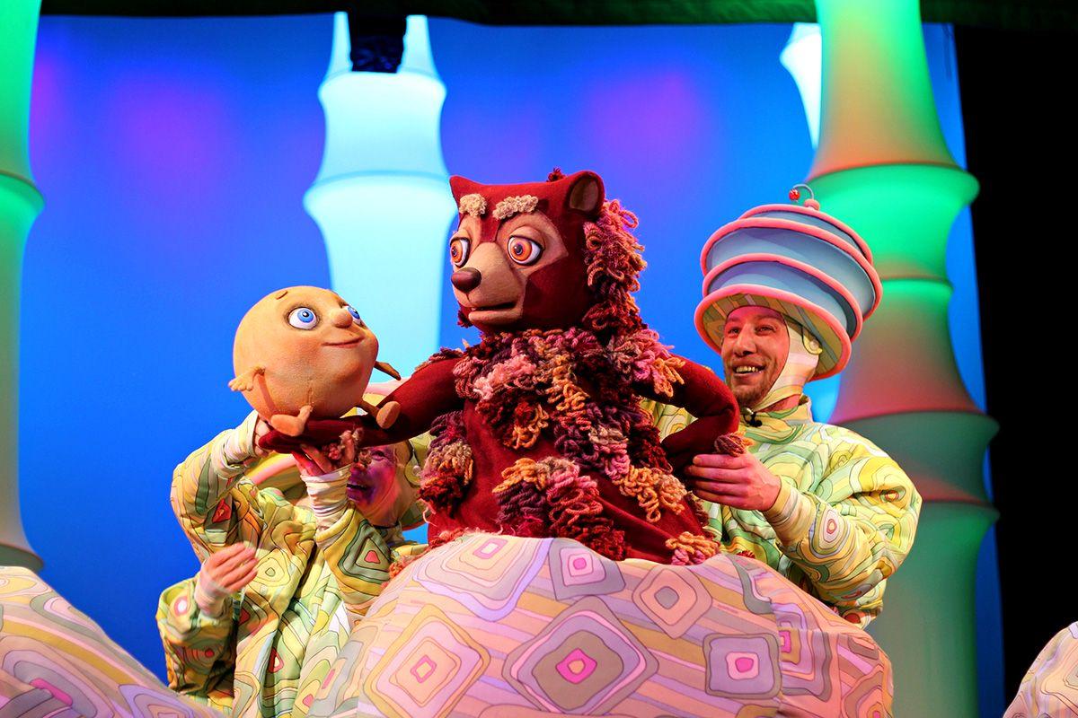 Спектакль «Колобок» в Московском театре кукол на Спартаковской фото 2