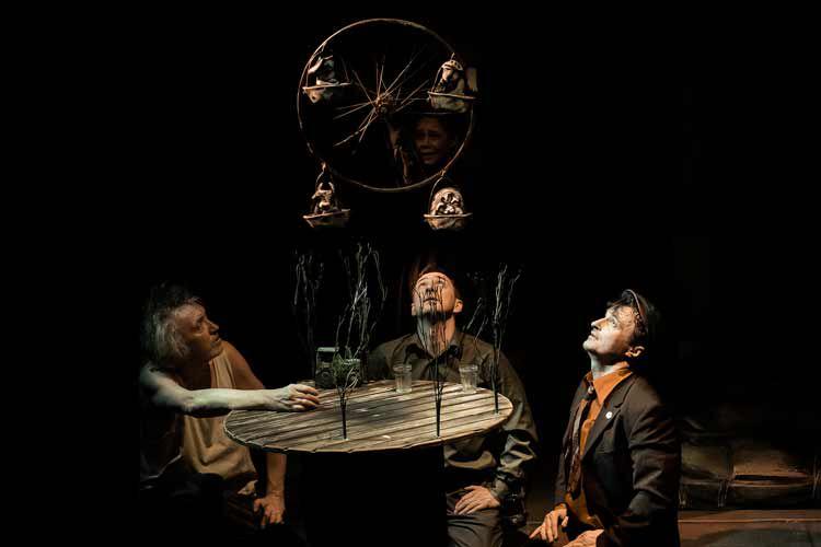 Спектакль «Жена мужа в Париж провожала» в Театре кукол С. В. Образцова фото 2