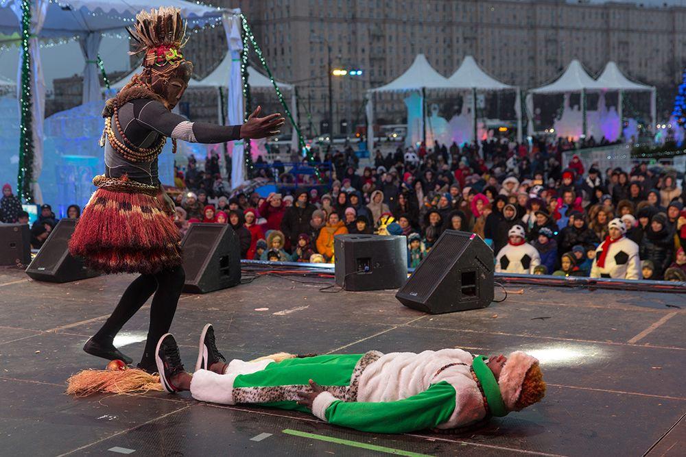 IV Новогодний фестиваль Александра Ковтунца «Ледовая Москва. В кругу семьи» фото 9