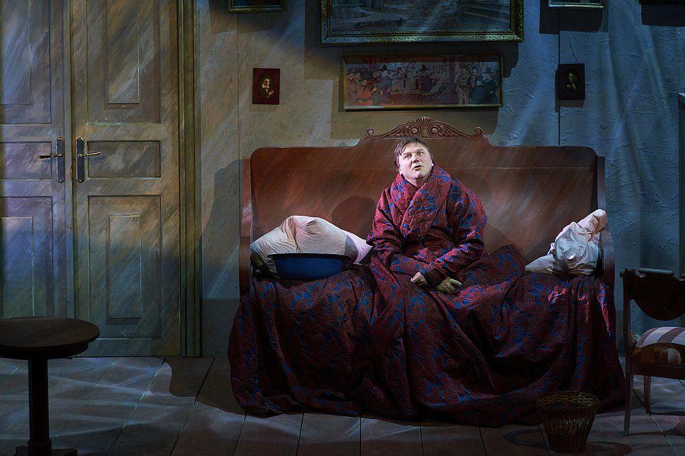 Спектакль «Обломов» в Театре Маяковского фото 1