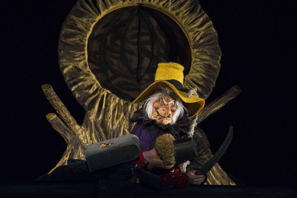 Спектакль «Огниво» в Московском театре кукол на Спартаковской фото 5