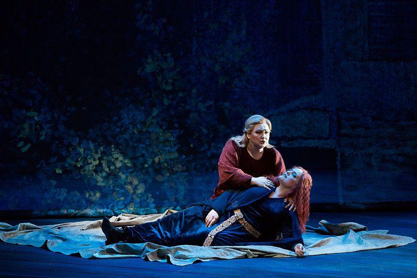 Спектакль «Тристан и Изольда» Р. Вагнера в Театре «Новая Опера» фото 9