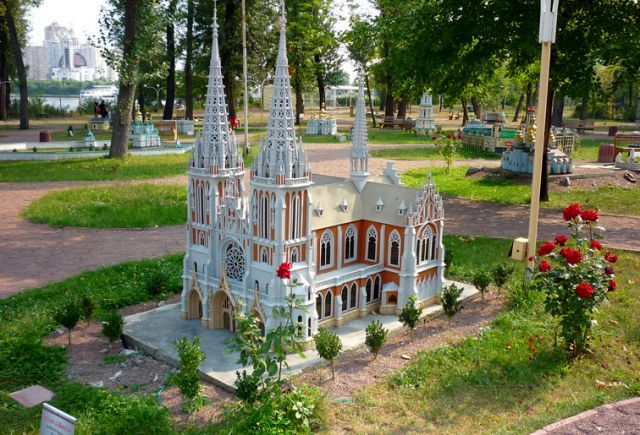 Выставка «Киев в миниатюре»