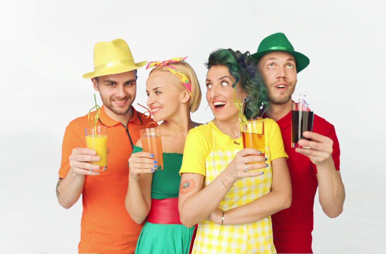 группа фрукты фото участников дизайн, стиль, элегантность