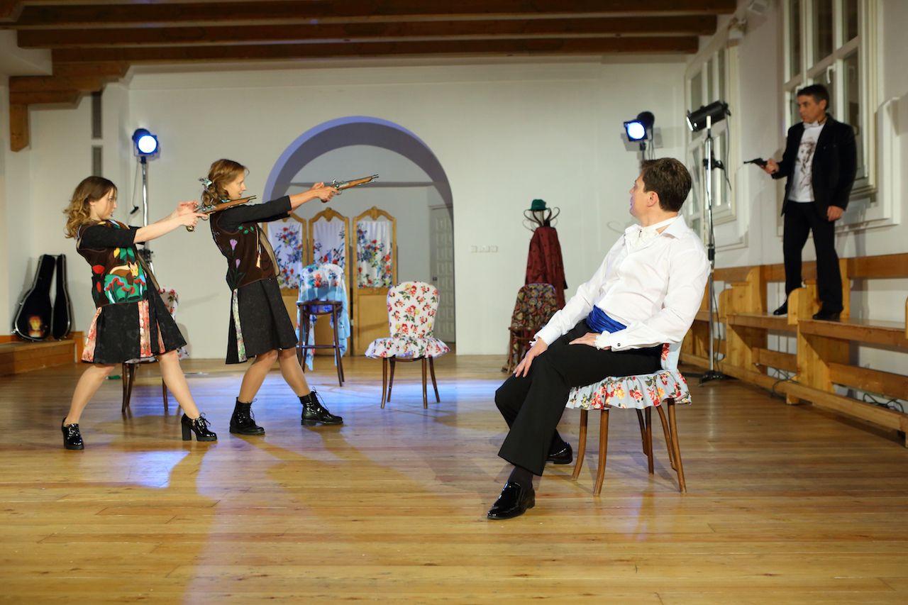 Спектакль «Граф Нулин» в Театре «Школа драматического искусства» фото 4