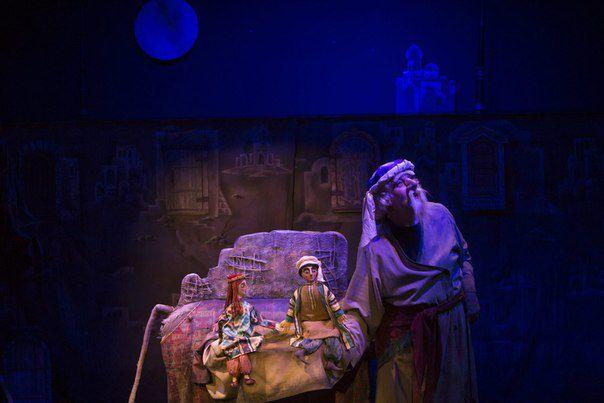 Спектакль «Али-Баба и сорок разбойников» в Театре кукол им. С. В. Образцова фото 2