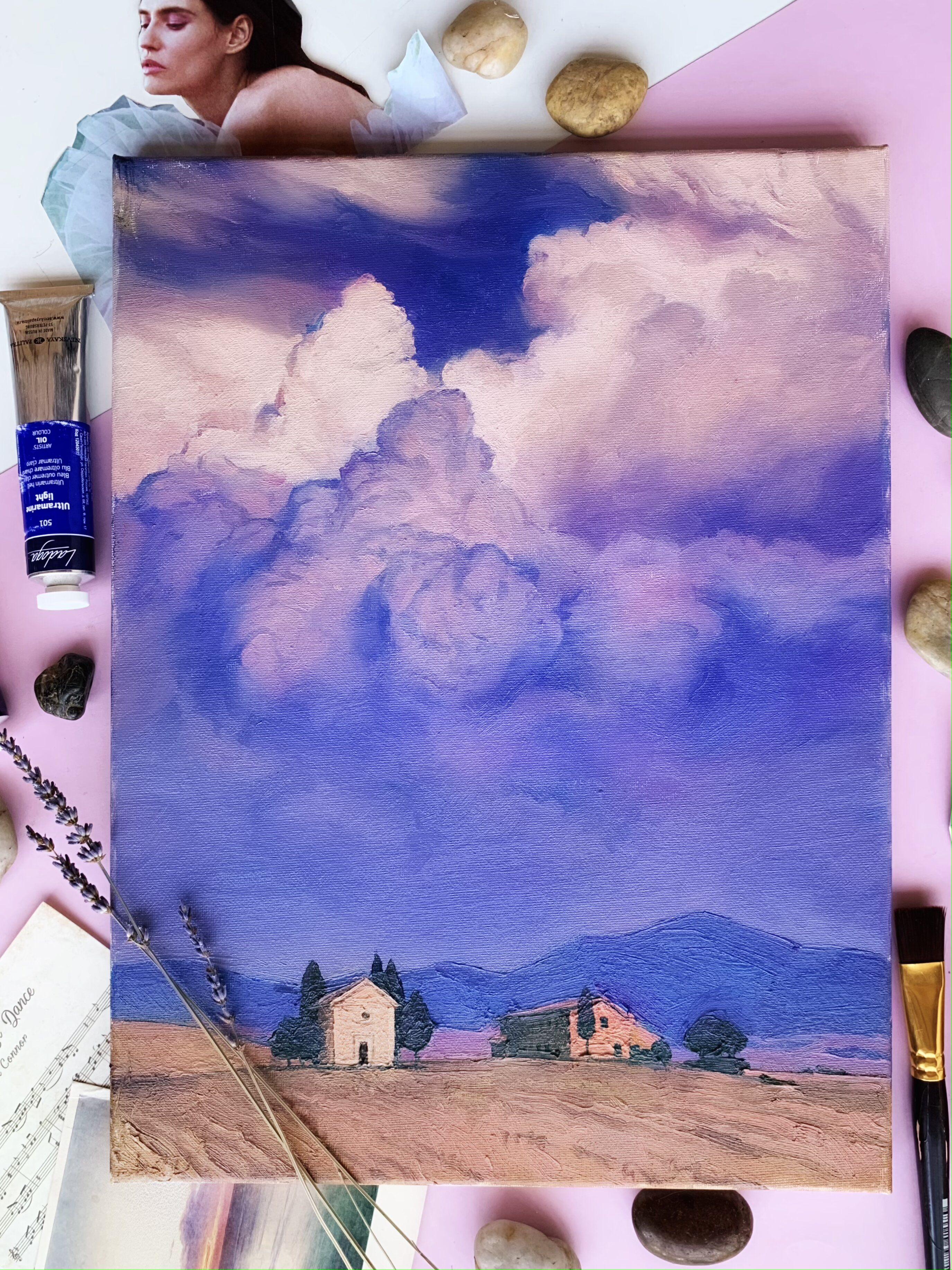 Курс живописи маслом с нуля в студии рисования «Возьми кисть» фото 3