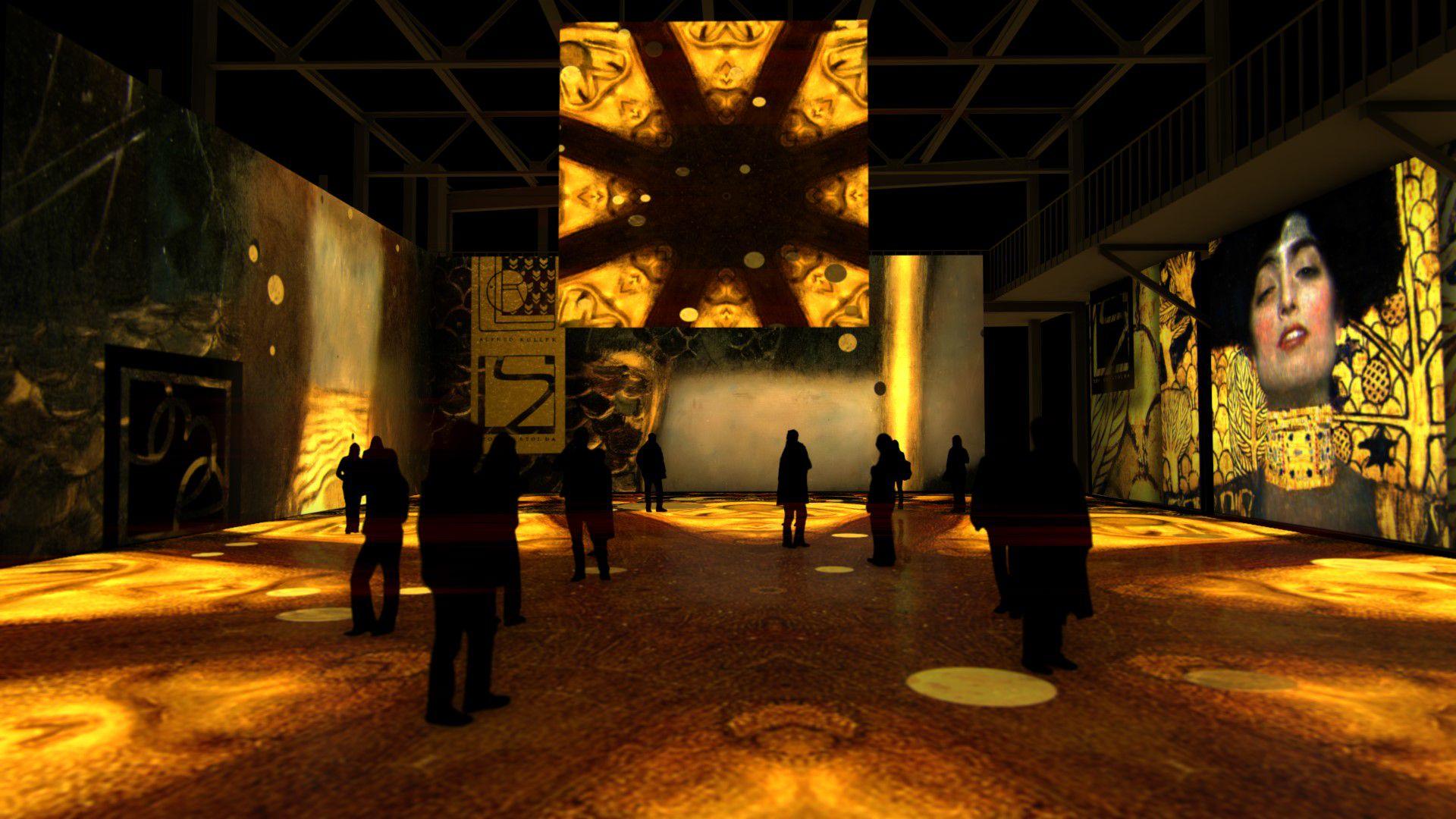 Мультимедийная выставка «Густав Климт. Золото модерна» фото 10