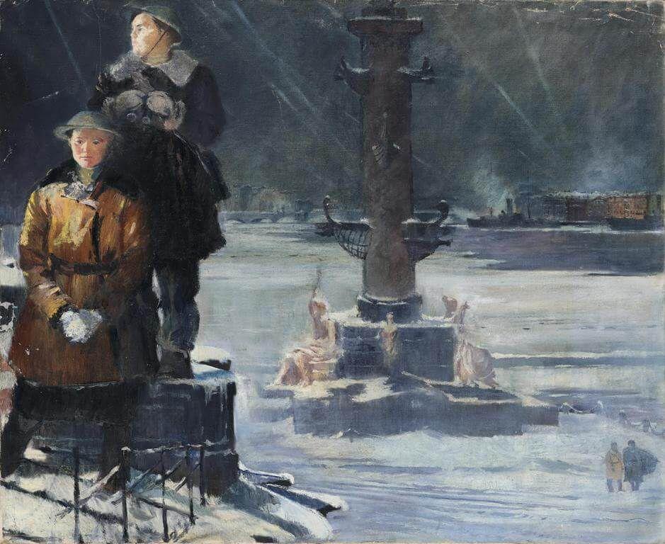 Выставка «Юрий Пименов» фото 7