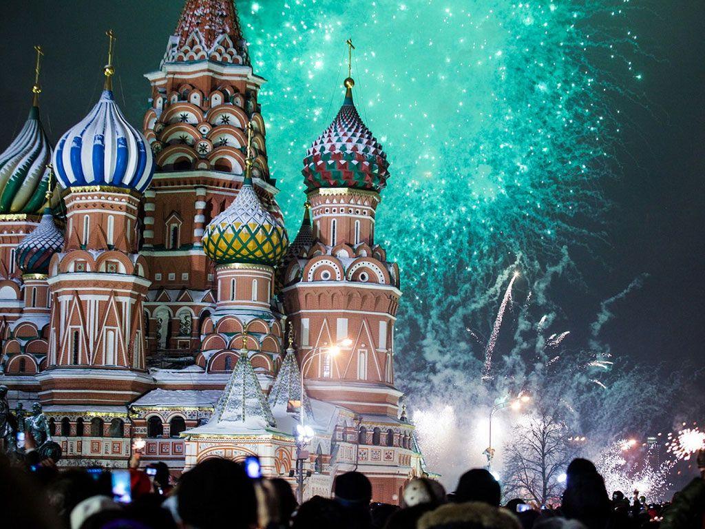 Праздник Новый год 2017 2016 в Красной площади, Москва - photo#21