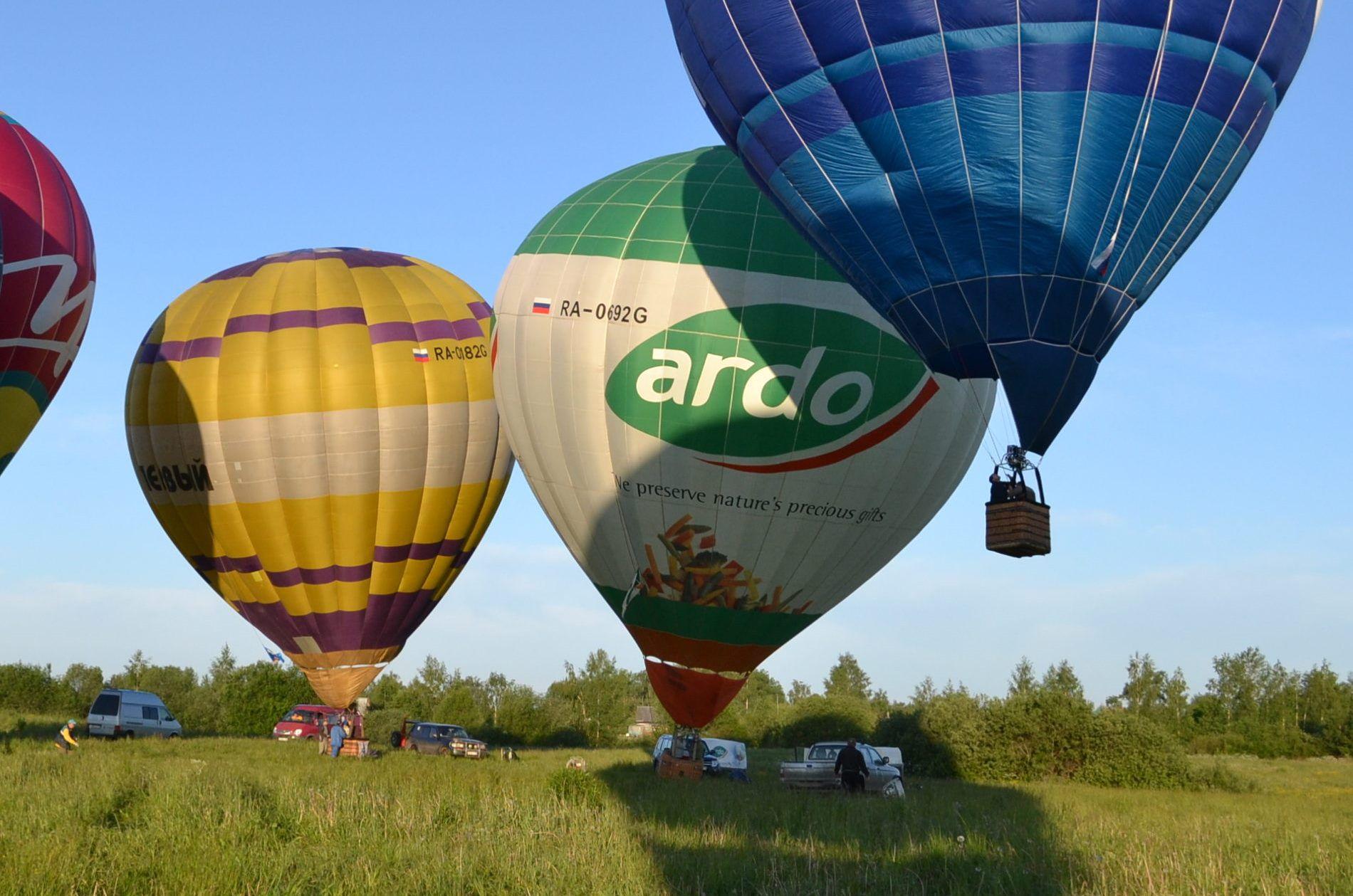Привязные полёты на воздушном шаре фото 1