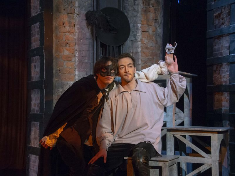 Спектакль «Комедия о вдове» в Театре имени Евг. Вахтангова фото 7