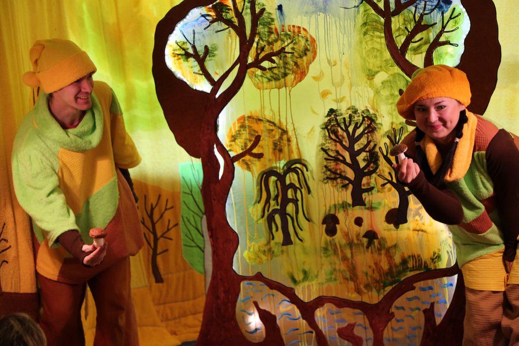 Спектакль «Театр на ладошке. Осень» в Московском театре кукол на Спартаковской фото 1
