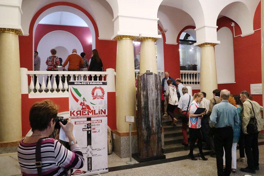 Выставка итальянского современного искусства Italiart Kremlin 2019 фото 3