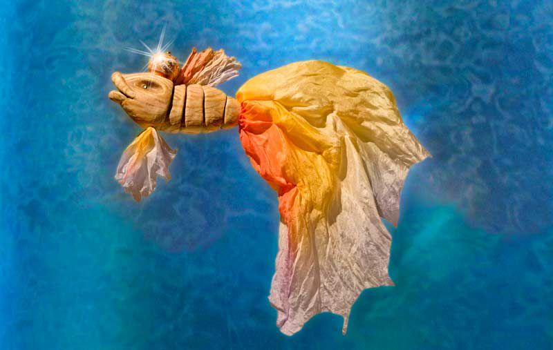 Спектакль «Сказка о рыбаке и рыбке» в Театре кукол им. С. В. Образцова фото 5