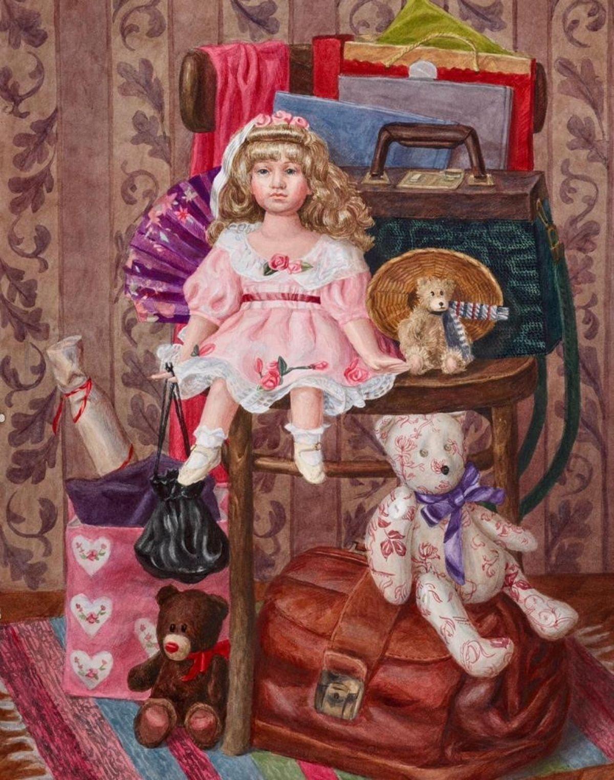 Выставка репродукций учеников Школы акварели Сергея Андрияки фото 5
