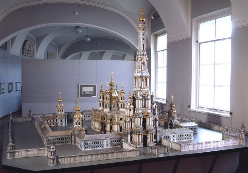Выставка исторических архитектурных моделей и чертежей