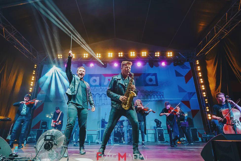 Концерт «Мировые симфонические рок-хиты» на крыше Fantomas Rooftop фото 1