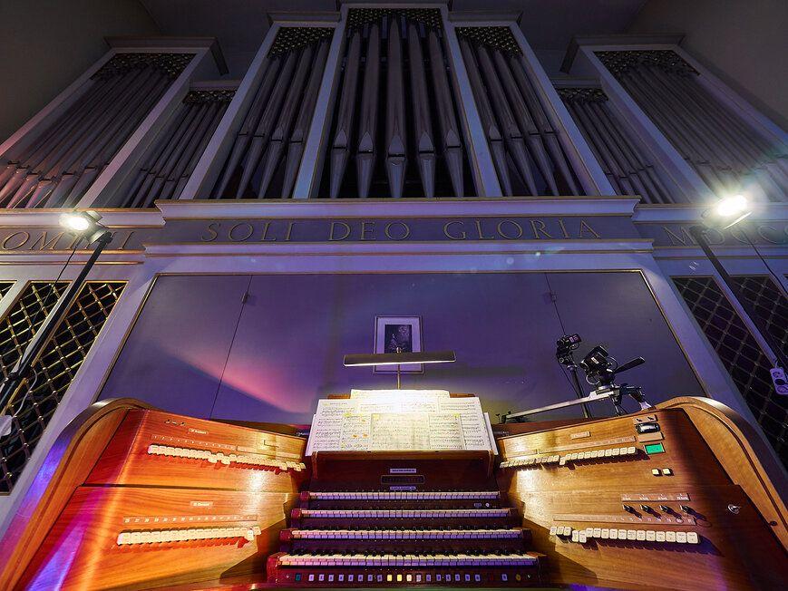 Концерт «Романтический вечер в соборе. Орган и саксофон» фото 1