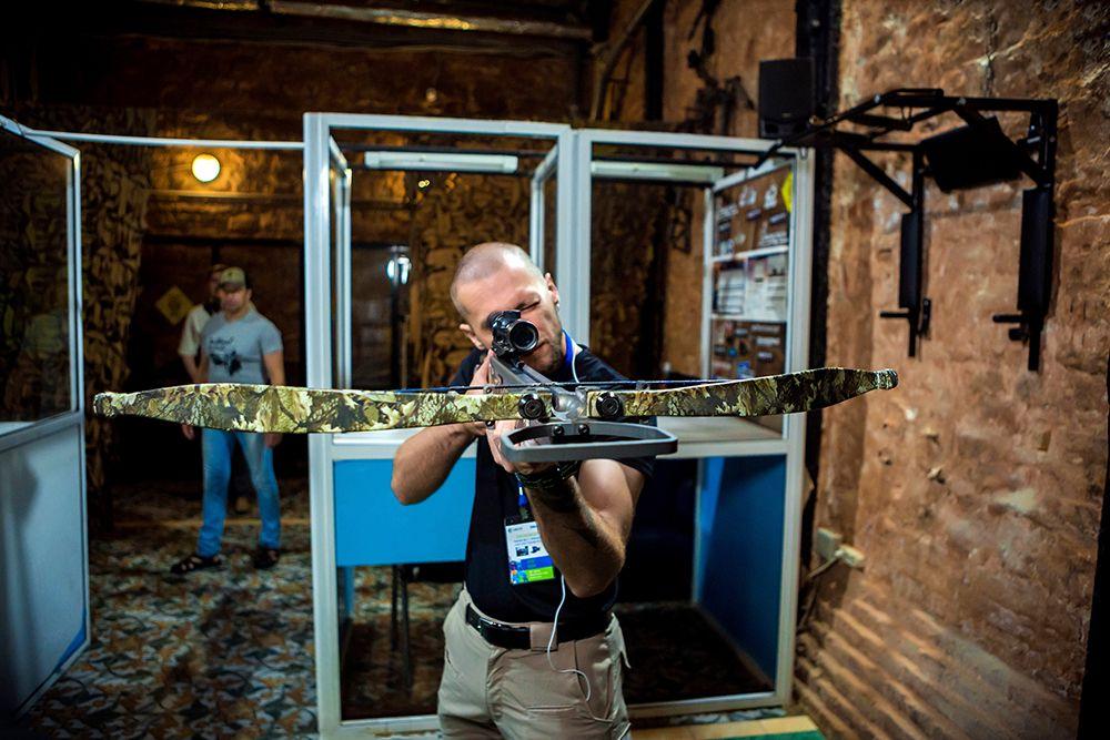 Занятия по стрельбе из лука и арбалета в клубе «Лабиринт» фото 8