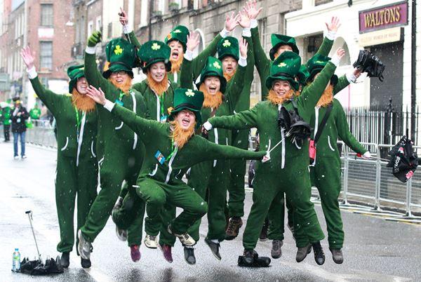 Ирландский праздник «День Святого Патрика»