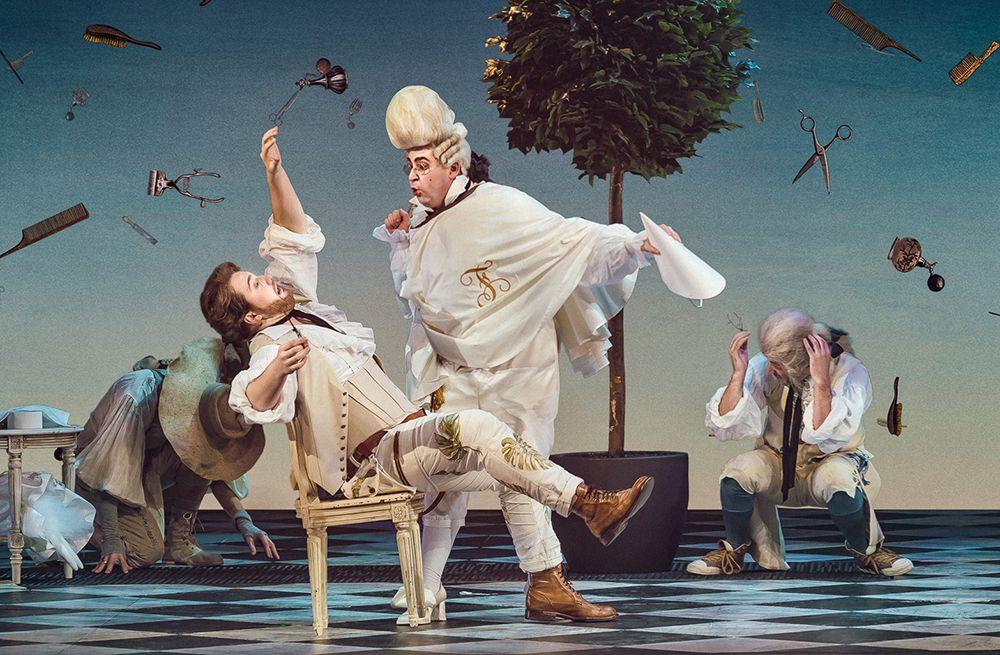 Опера «Севильский цирюльник» в Большом театре фото 10