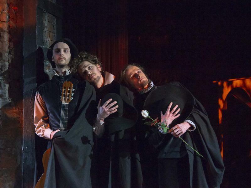 Спектакль «Комедия о вдове» в Театре имени Евг. Вахтангова фото 3