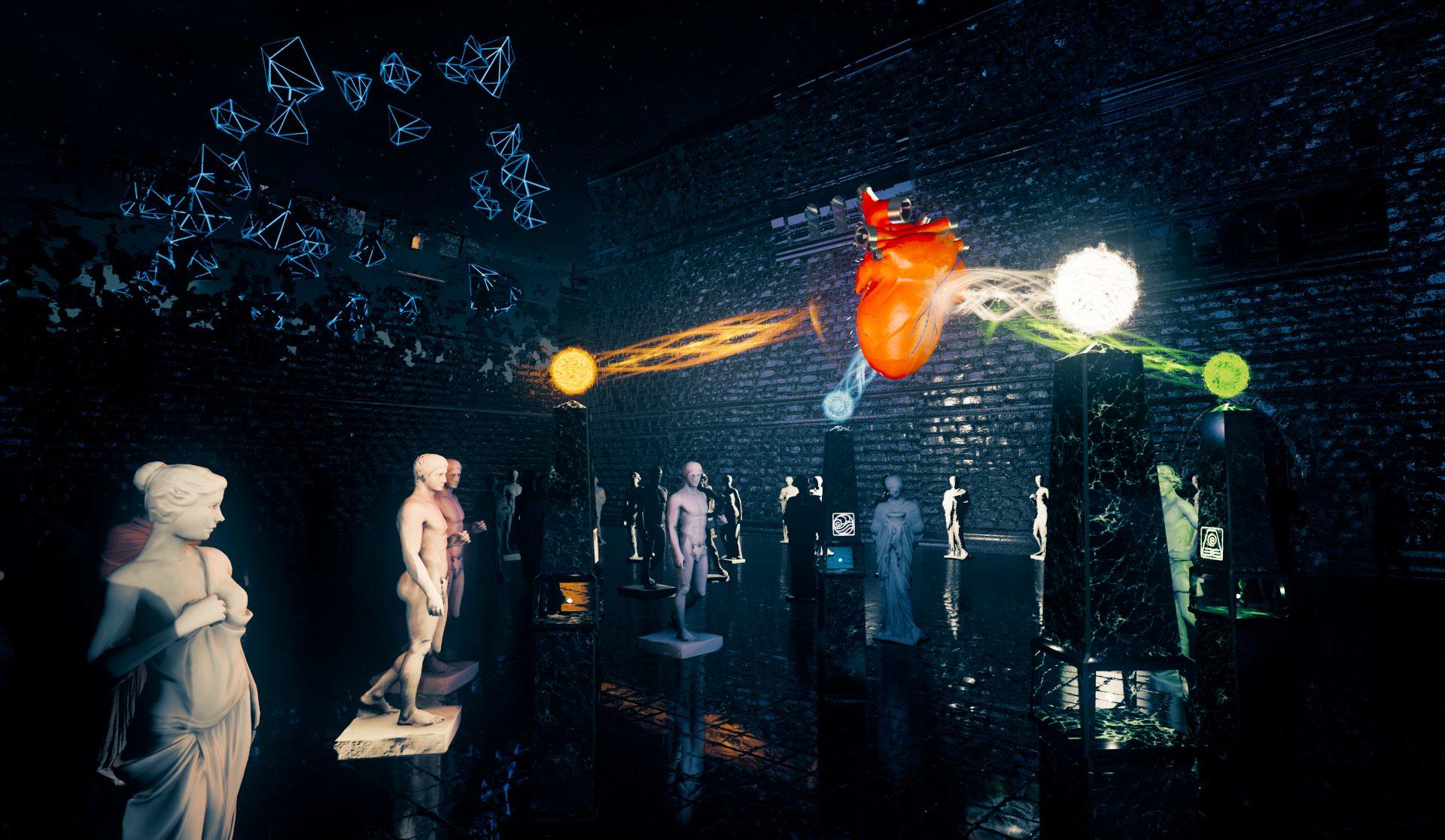 Иммерсивная выставка в виртуальном пространстве «Я» фото 2