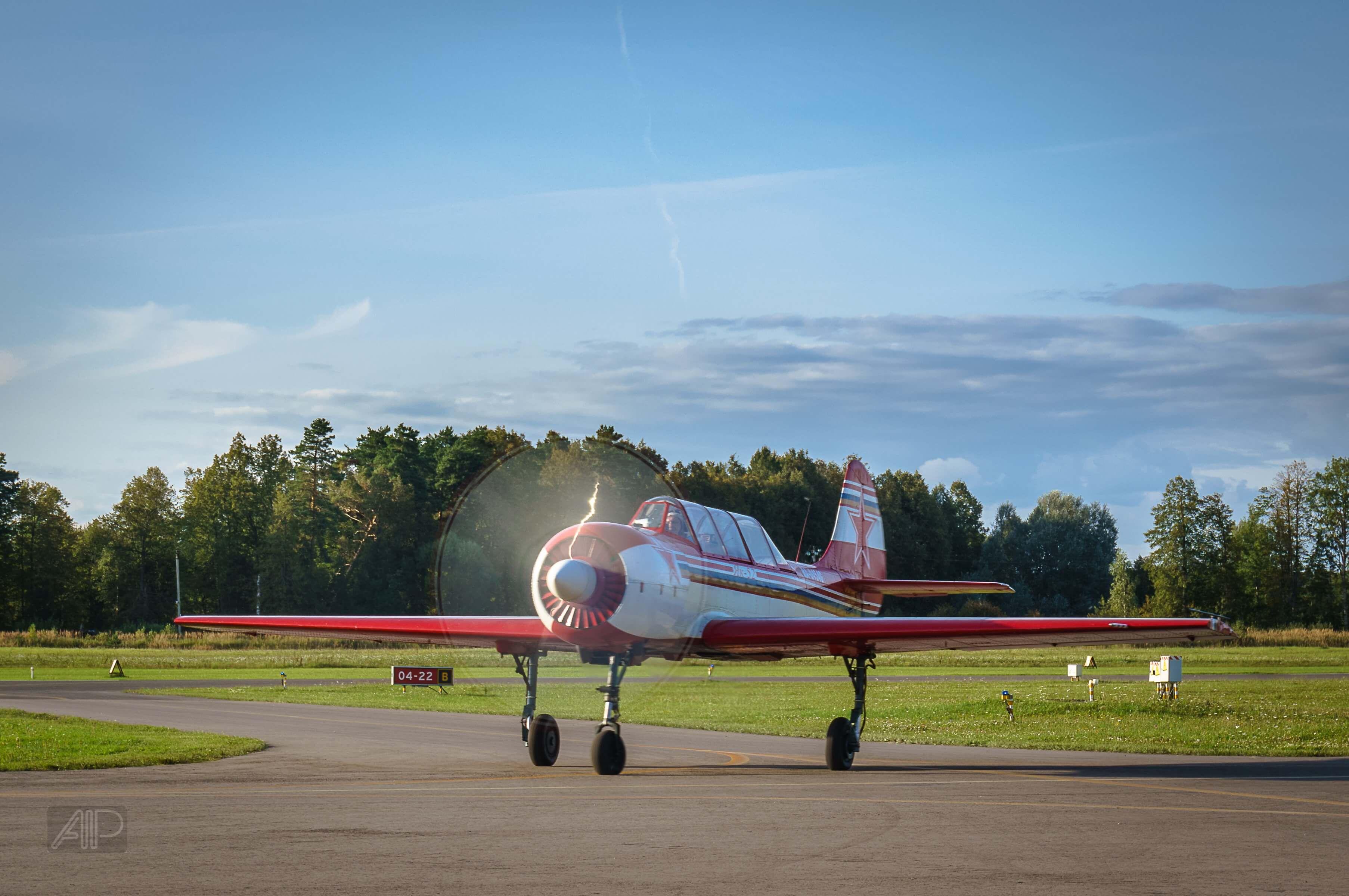 Полёт на самолёте по программе высшего пилотажа фото 1