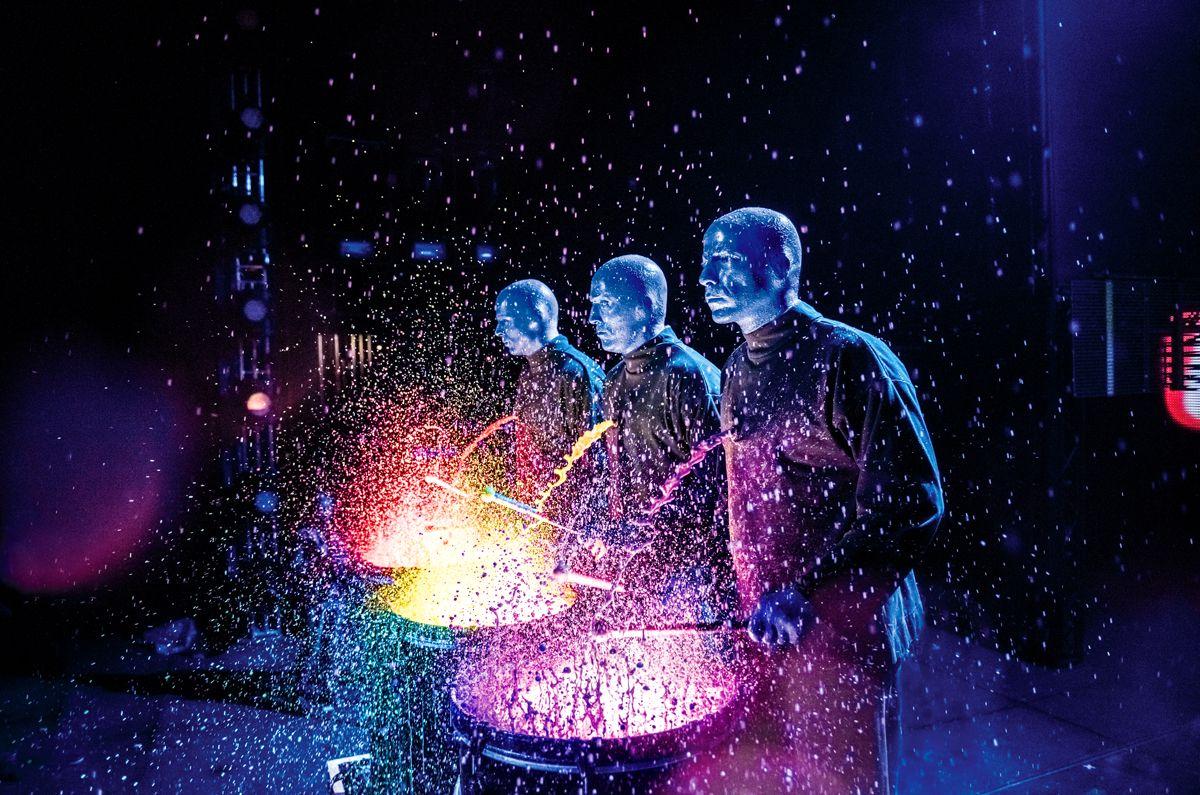 Шоу Blue Man Group фото 1