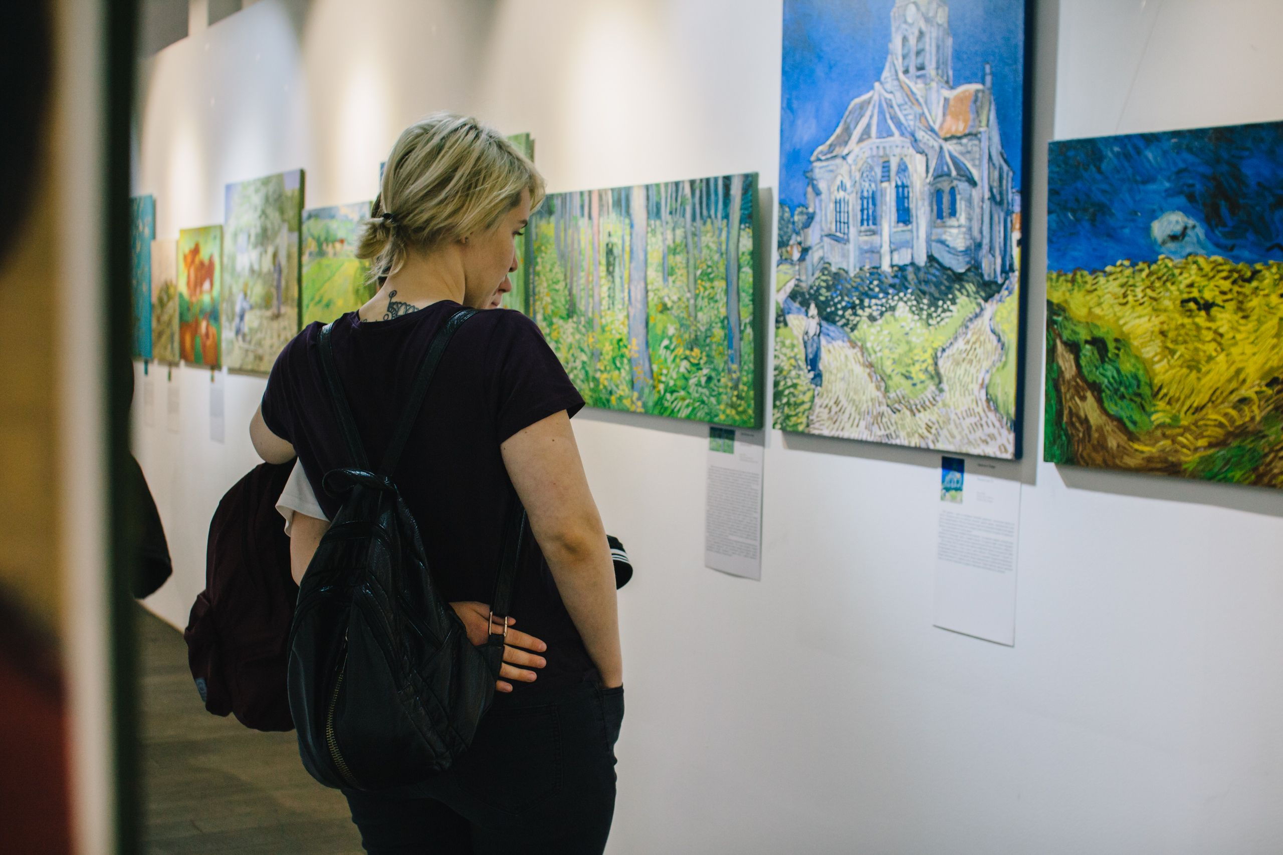 Выставка «Ван Гог и Гоген» фото 6