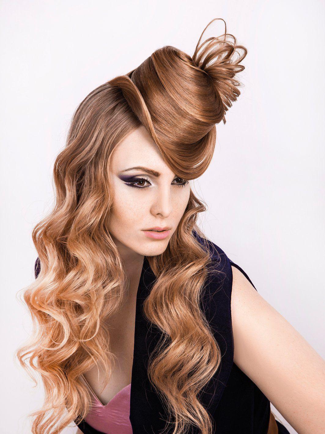 Прически шляпки из волос фото