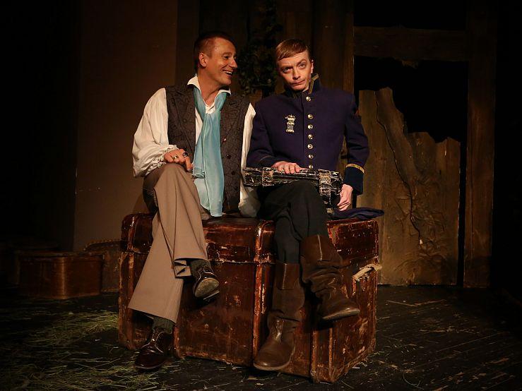 Спектакль «Игроки» в Театре им. Ермоловой фото 3