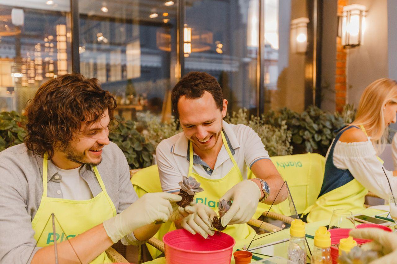 Вечеринки с растениями Planty офлайн и онлайн фото 12
