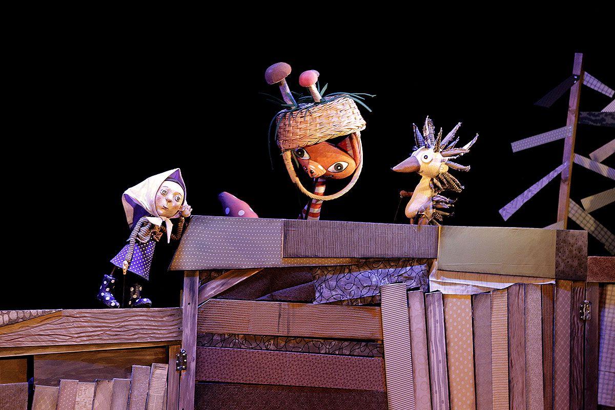 Спектакль «Гусёнок» в Московском театре кукол на Спартаковской фото 2