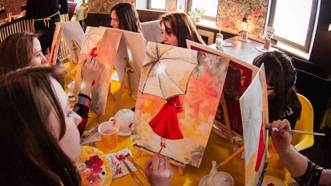 Скидка до 55% на посещение арт-вечеринки от проекта Art D'Vino фото 1