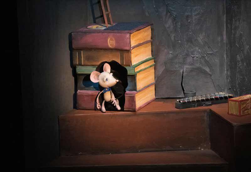 Спектакль «Солнечный луч» в Театре кукол имени С. В. Образцова фото 1