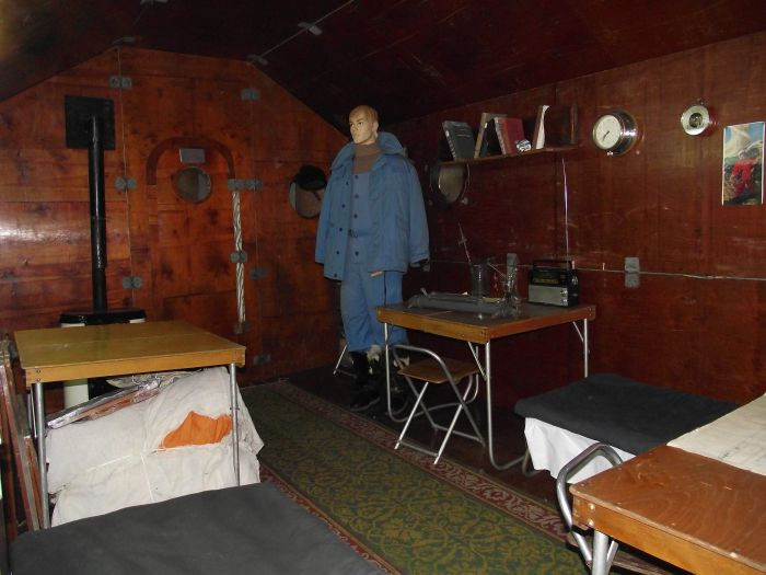 экспозиция музея Арктики и Антарктики «История освоения Северного морского пути»