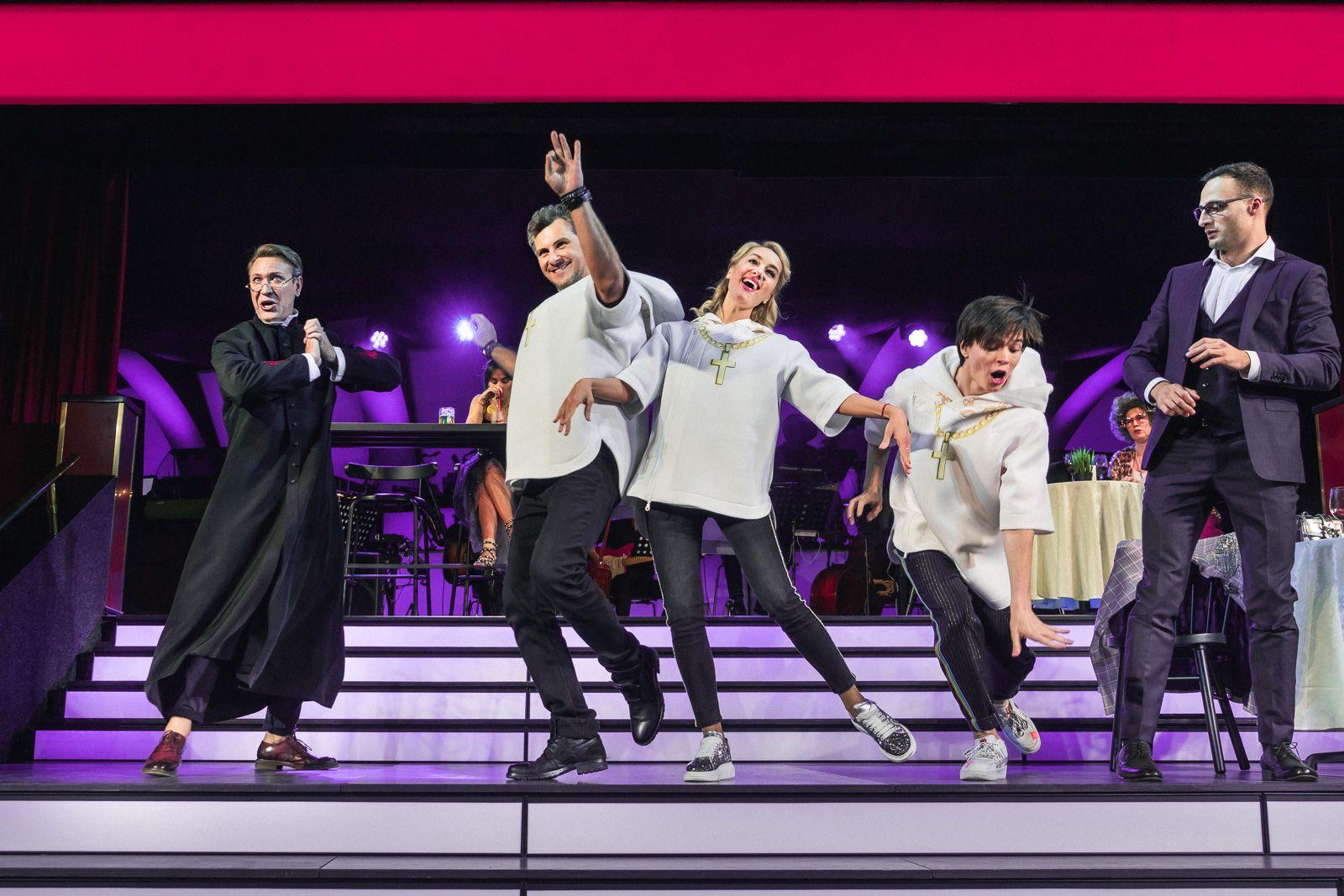 Мюзикл за столиками «Первое свидание» в Театре МДМ фото 3