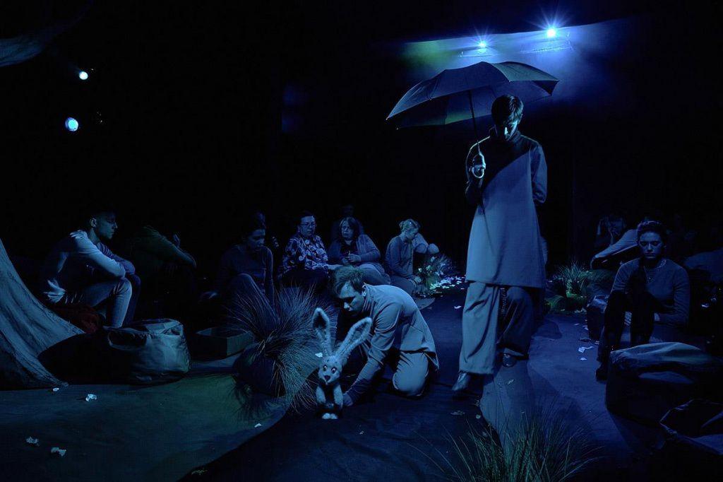 Спектакль «Ежик в тумане» в Московском театре кукол на Спартаковской фото 6