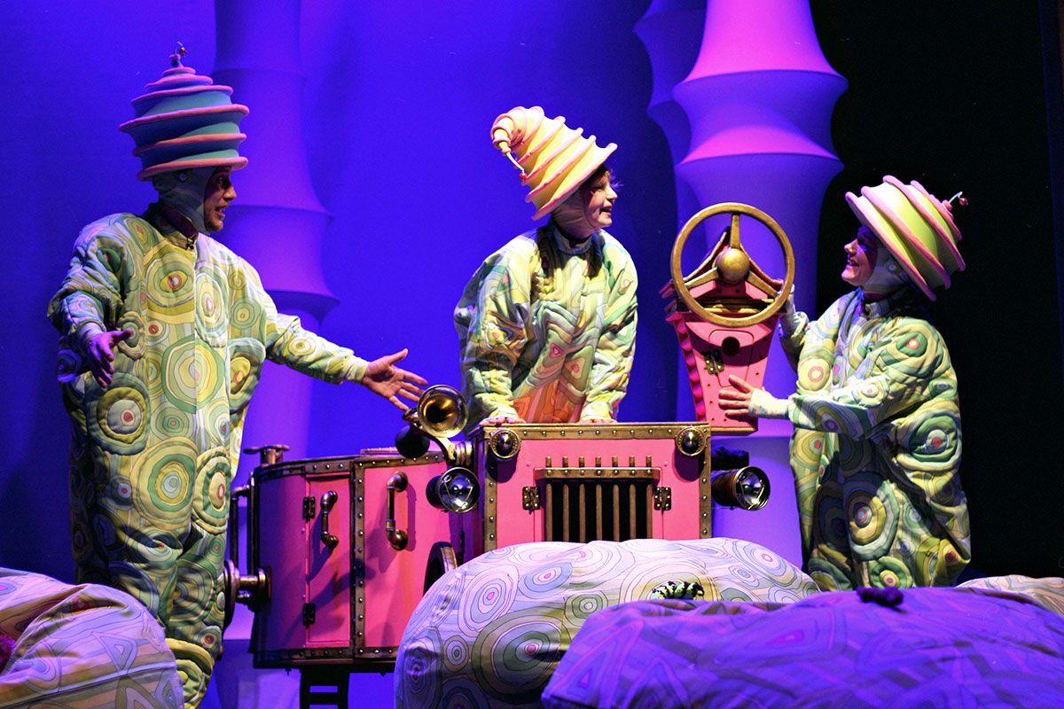 Спектакль «Колобок» в Московском театре кукол на Спартаковской фото 3