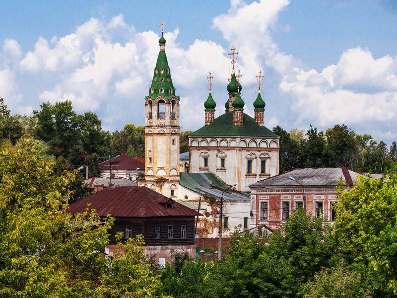 Экскурсия «Из Москвы в Серпухов на автомобиле» фото 1