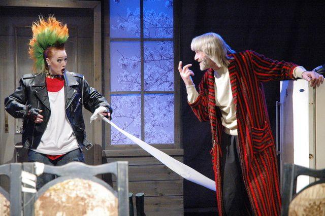 Онлайн-показ спектакля «Русское варенье» Новосибирского театра «Глобус» фото 1