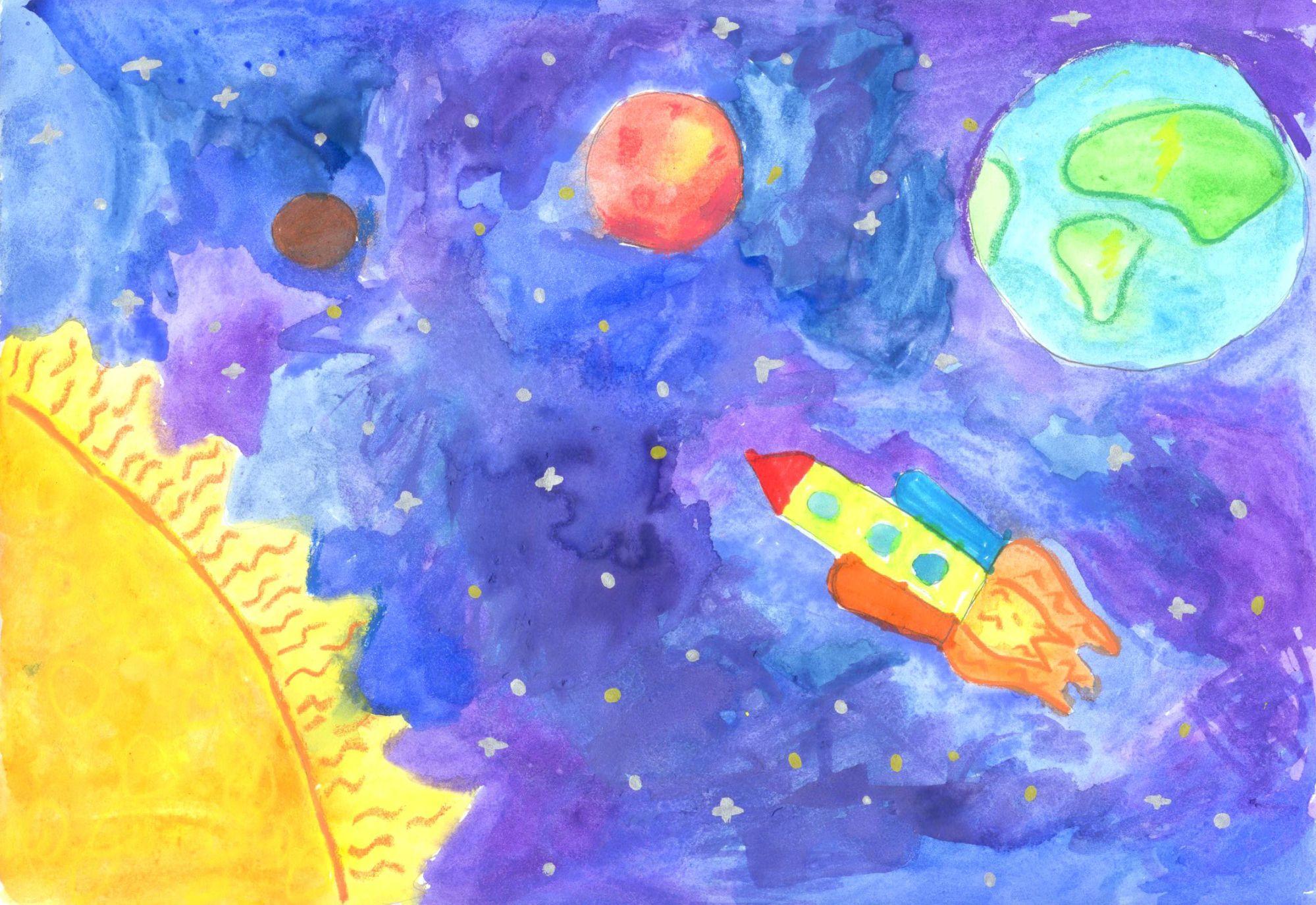 Детские парки рисунки 3