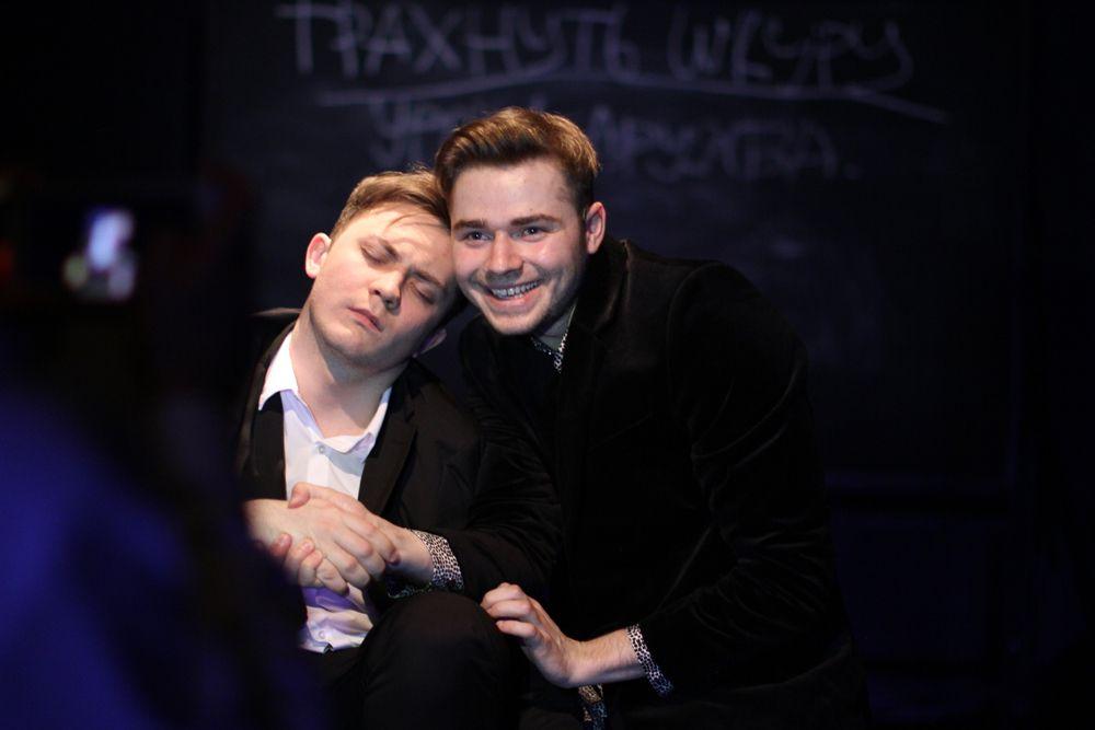 Спектакль «С_училища» в Театре имени А. С. Пушкина фото 2