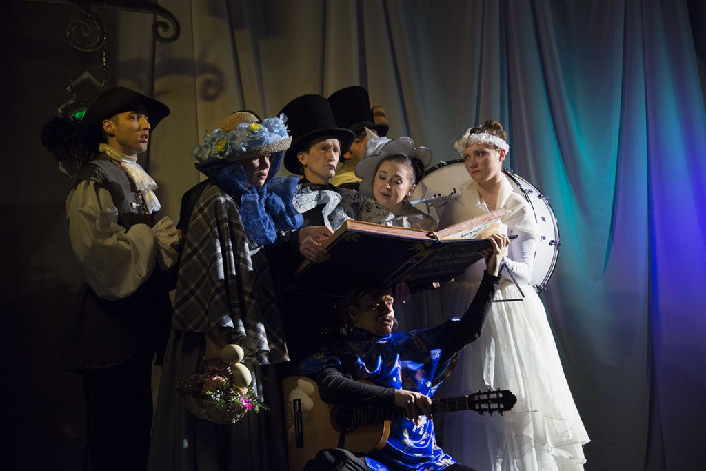 Спектакль «Огниво» в Московском театре кукол на Спартаковской фото 7