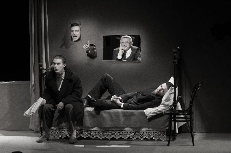 Спектакль «Записки покойника» в Студии театрального искусства фото 1