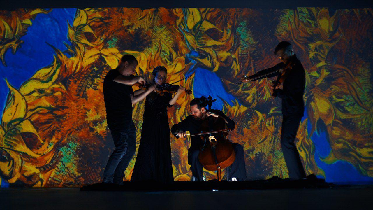 Мультимедийная выставка «Моне — Ван Гог — Кандинский. Революция в искусстве» фото 7