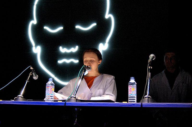 Онлайн-показ спектакля Make-up Opera Театра Оскараса Коршуноваса фото 1
